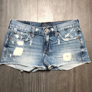 LuckyBrand 00 cut off jean shorts. Good condition